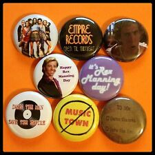 "Empire Records 1"" buttons badges Damn The Man 90s Alternative"
