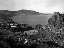 OLD PHOTO FRANCE Oran Panorama Of Saint clothilde Merselkebir & The Hillsides