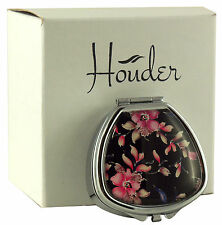Cute Pill Box For Purse Decorative Pill Case Floral Pill Holder Mint Case Metal