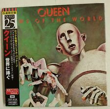 "Queen News of the World CD JAPON 2000 ""vinyl-replica """