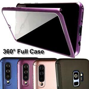 HÜLLE 360 GRAD Schutzhülle Case Cover Handy Tasche inkl. Glas oder Panzer Folie
