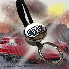AUDI Key Chain Key Ring Holder Hot LOGO Sale Car Emblem HOLDER