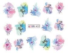 Nail Art Decals Transfers Stickers Ballet Dancers (BN432)