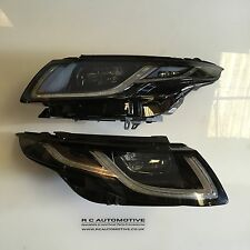 PAIR OF GENUINE RANGE ROVER EVOQUE 2016 FACELIFT UK SPEC LED HEADLIGHTS