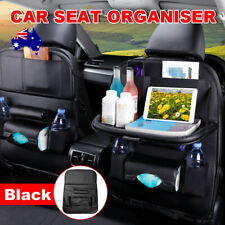 Car Seat Back  Organizer Tidy Pocket Storage Leather Kids BagHolder Table Travel