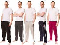 Mens 100%Cotton Jersey Pyjama Bottom Plain Lightweight Branded Lounge Pant M-3XL