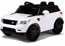 Kinderfahrzeug Elektrofahrzeug Kinder Elektroauto Ledersitz EVA Soft Reifen Weiß