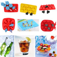 Plastic Ice Cube Tray Mold DIY Bar Jelly Pudding Chocolate Candy Mould Maker