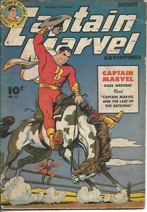 Captain Marvel Adventures Fawcett#51 1946