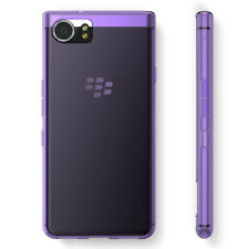 For BlackBerry KeyOne Purple Slim Gloss Gel Soft TPU Silicone Case Cover Skin