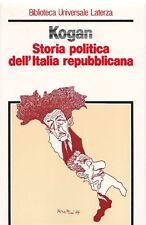 KOGAN Norman - Storia politica dell'Italia repubblicana