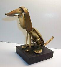 Vintage Mid Century Modern Brutalist Dog Spoon Art Sculpture Raul Zuniga ???