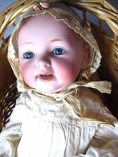"Antique Kestner JDK Doll Porcelain Bisque Head with Composite 16"" Baby"