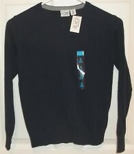 Boys CHILDRENS PLACE~BLUE SWEATER~size 5-6 SMALL~NWT~V-Neck Cotton Pullover