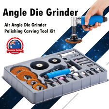 "23pcs 1/4"" Mini Air Angle Die Grinder Polishing Carving Tool Kit"