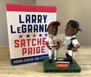 """SATCHEL PAIGE & LARRY LEGRANDE Negro League Legends SGA 4"""" Bobblehead NIB!"""