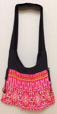 Shoulder Bag Purse Embroidered Handbag Hmong Hill Tribe