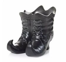YANKEE CANDLE BATTY BATS WITCHES BOOTS JAR CANDLE HOLDER NEW HALLOWEEN RETIRED