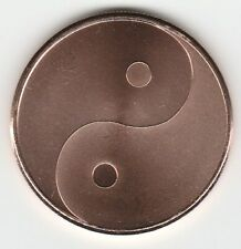 """Lot Of 20 """"Yin Yang"""" Silver Shield 2017 1 Oz. Copper Rounds 2,083 Produced"""