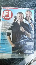F1 Racing Magazine July 2011 Unopened