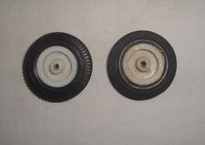 Roue jante et pneu Lot de 2 Diamètre 4,5 cm