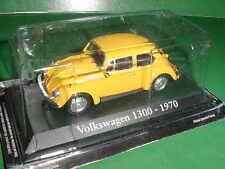 VOLKSWAGEN COX 1300 JAUNE 1979 1/43 IXO
