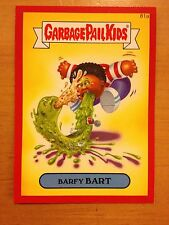 Garbage Pail Kids 2014 Series 2 #81a Barfy Bart METALLIC RED NrMint-Mint