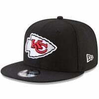 Kansas City Chiefs New Era NFL Team 9FIFTY Snapback Hat - Black