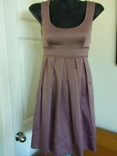 COOPER ST by Myer Made in Australia Soft Satin Dress Size 6 B48