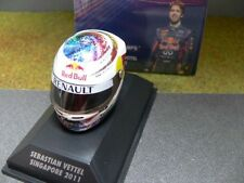 1 8 MINICHAMPS Arai Helm Singapore GP 2011 Sebastian Vettel