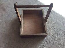 Ancienne boite caisse à outil en bois