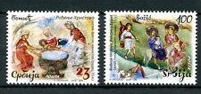 Serbia 2016 MNH Christmas Nativity Baby Jesus Mary Joseph 2v Set Stamps