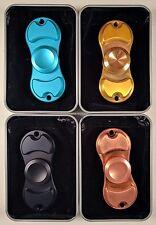 New Torqbar Fidget Spinner Stainless Steal Metal Alluminum Stress Relief Toy