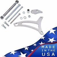 Ford 351W Alternator Bracket Billet Aluminum V-Belt 5.8L Windsor Mid Mount