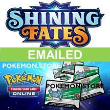 10 Shining Fates codes Pokemon TCG Online Booster ptcgo swsh 4.5 por correo electrónico rápido