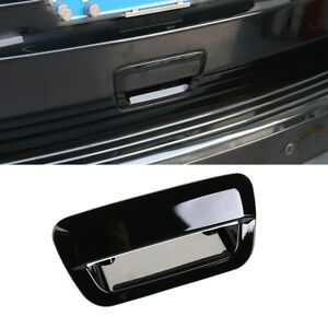 Black Trunk Tailgate Handle Overlay Cover Trim For Jeep Grand Cherokee 2011-2021