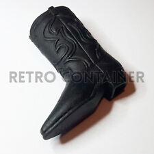 BIG JIM MATTEL - Vintage Parts & Accessories - Black Cowboy Boot Western