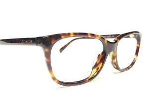 Coach HC6139U 5120 Women's Dark Tortoise Modern Rx Eyeglasses Frames 53/15~140