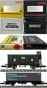 Marklin Z Scale  COLLECTOR M/M S030 & S069 Collector Cars Original Boxes  C9