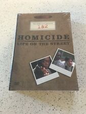 Homicide: Life on the Street Complete Seasons 1 & 2 (DVD 2003) NEW/ SEALED