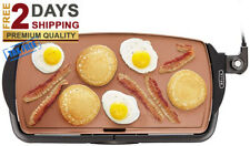 Electric Griddle NONSTICK PLATE Kitchen Cooking Food PANCAKE GRILL Appliance