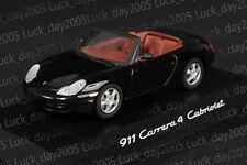 SCHUCO Porsche 911 Carrera 4 GTS Cabriolet (991) 2014 Black 1/43 Discast Model