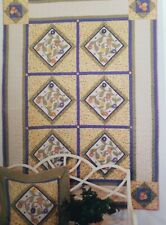 "Quilt Pattern Wall Hanging Cynthia Tomaszewski piecing machine applique 50""x67"""