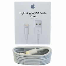 OEM Original Genuine Apple iPhone 6S Plus iPhone 5S Lightning Charger Cable 1M