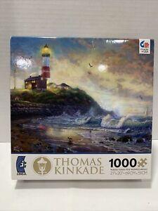 "Thomas Kinkade 1000 Piece  Jigsaw Puzzle ""Light of Hope"" 27"" x 20"" Made In USA"