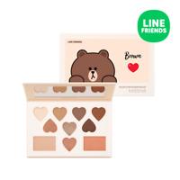 [MISSHA] Color Filter Shadow Palette No. 5 Shy Shy Brown (LINE FRIENDS) - 15g