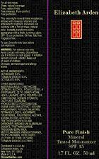 Elizabeth Arden PURE FINISH MINERAL Tinted Moisturizer, DEEP 04, 1.7 FL. OZ. NIB