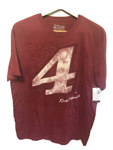 Chase Authentics Nascar Kevin Harvick #4 Red T Shirt Size XL New With Tags