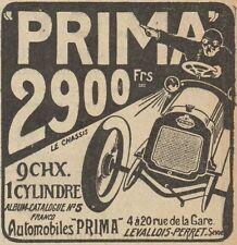 Z8067 Automobiles PRIMA - Pubblicità d'epoca - 1908 Old advertising
