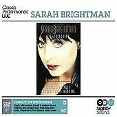 Sarah Brightman - In Concert Sight and Sound Series Live Recording cd + dvd rare
